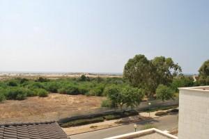 Вилла в Кейсарии - Вид на море с балкона