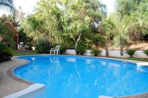 Вилла в Кейсарии - плавательный бассейн
